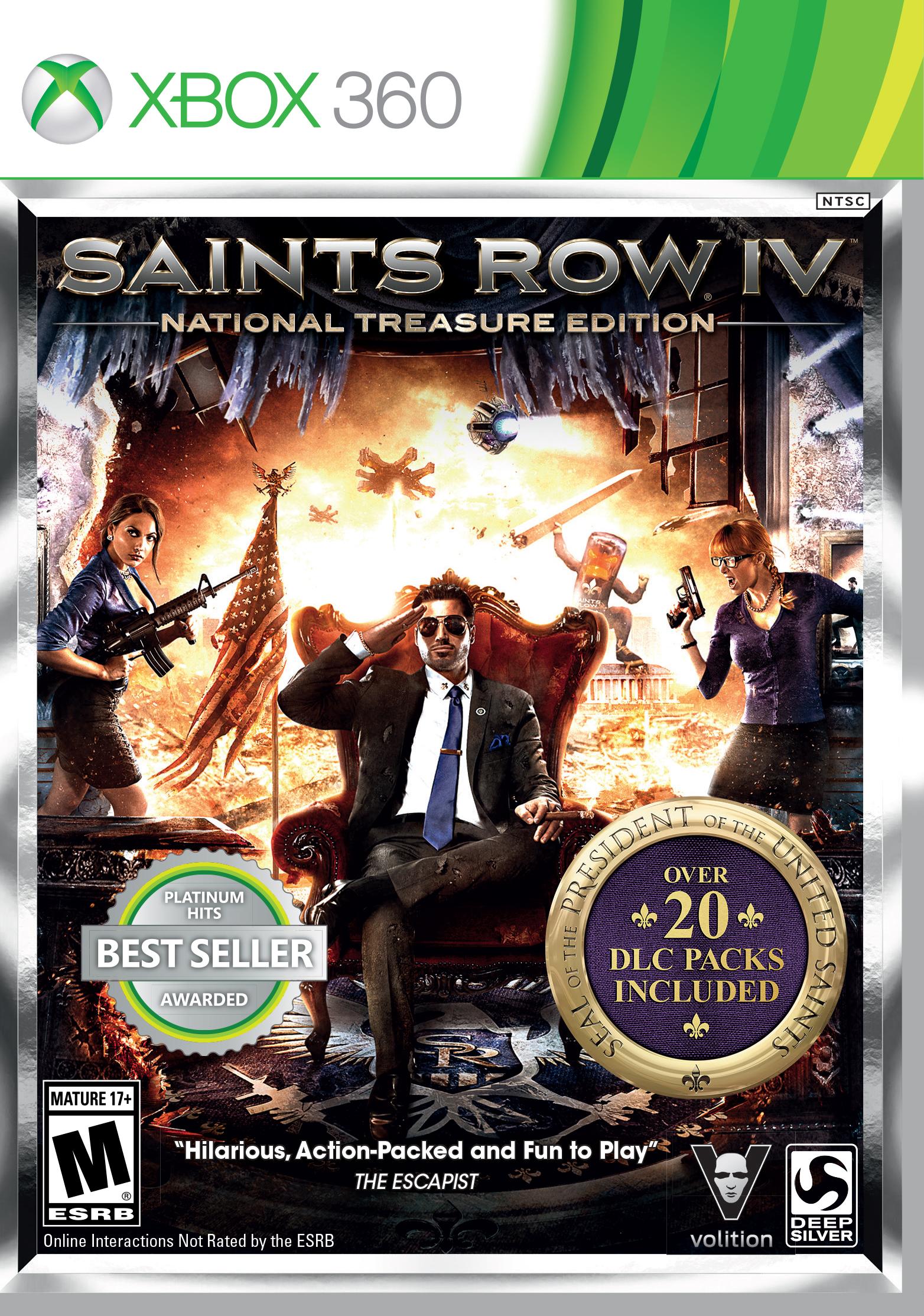 Saints Row 4: National Treasure Edition vyjde 8. července 98120