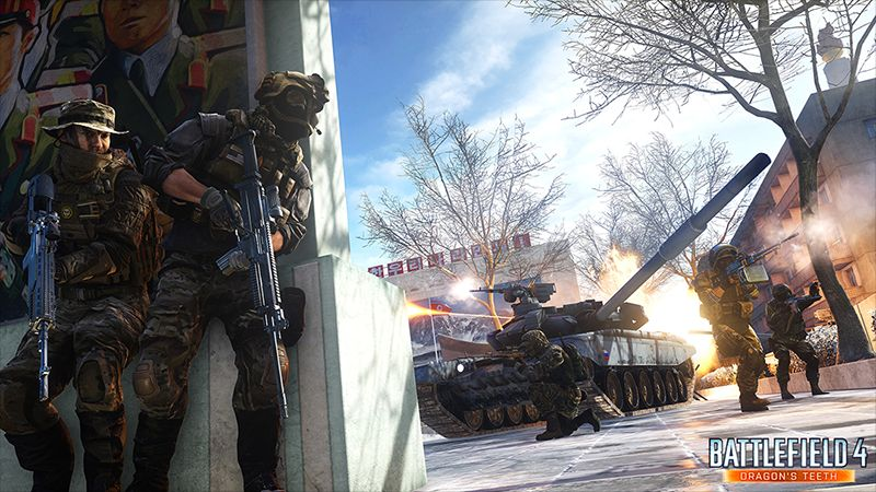 Boje v Battlefieldu 4 se přesunou do severokorejské metropole 98241