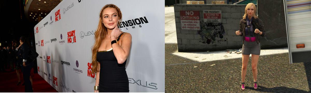 Soud zamítl žalobu Lindsay Lohan na Rockstar kvůli GTA V 98362