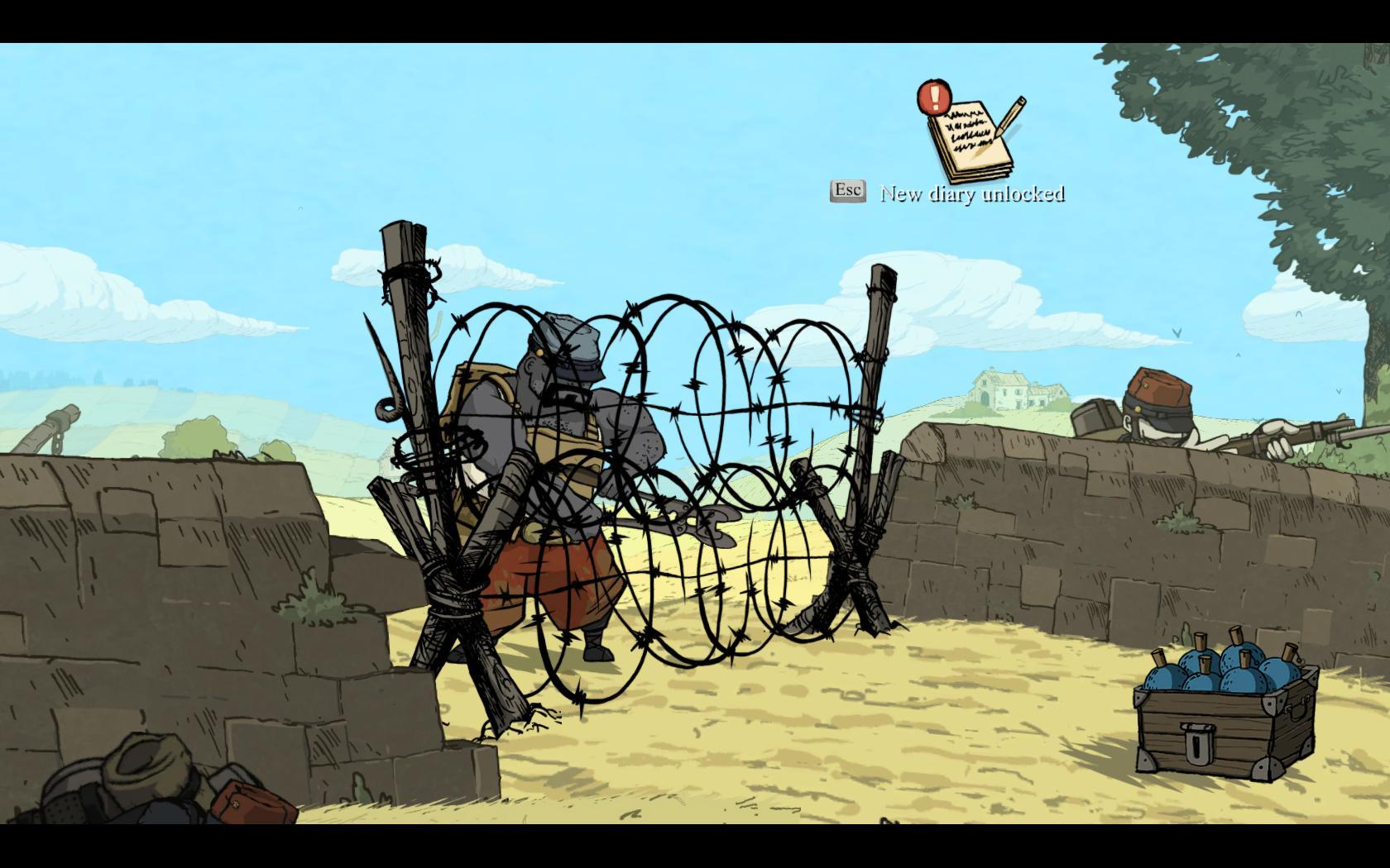 Valiant Hearts: The Great War - zákopová krása 98405