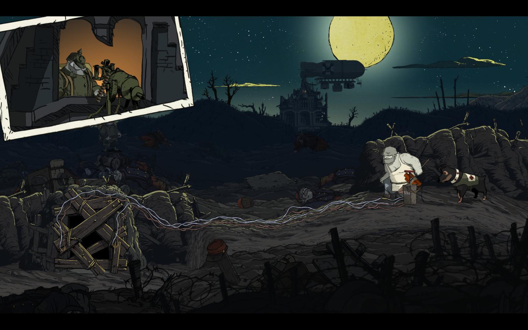 Valiant Hearts: The Great War - zákopová krása 98408