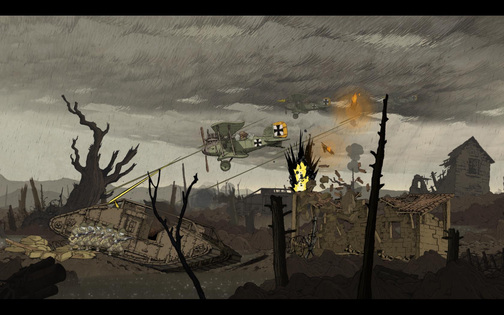 Valiant Hearts: The Great War - zákopová krása 98413