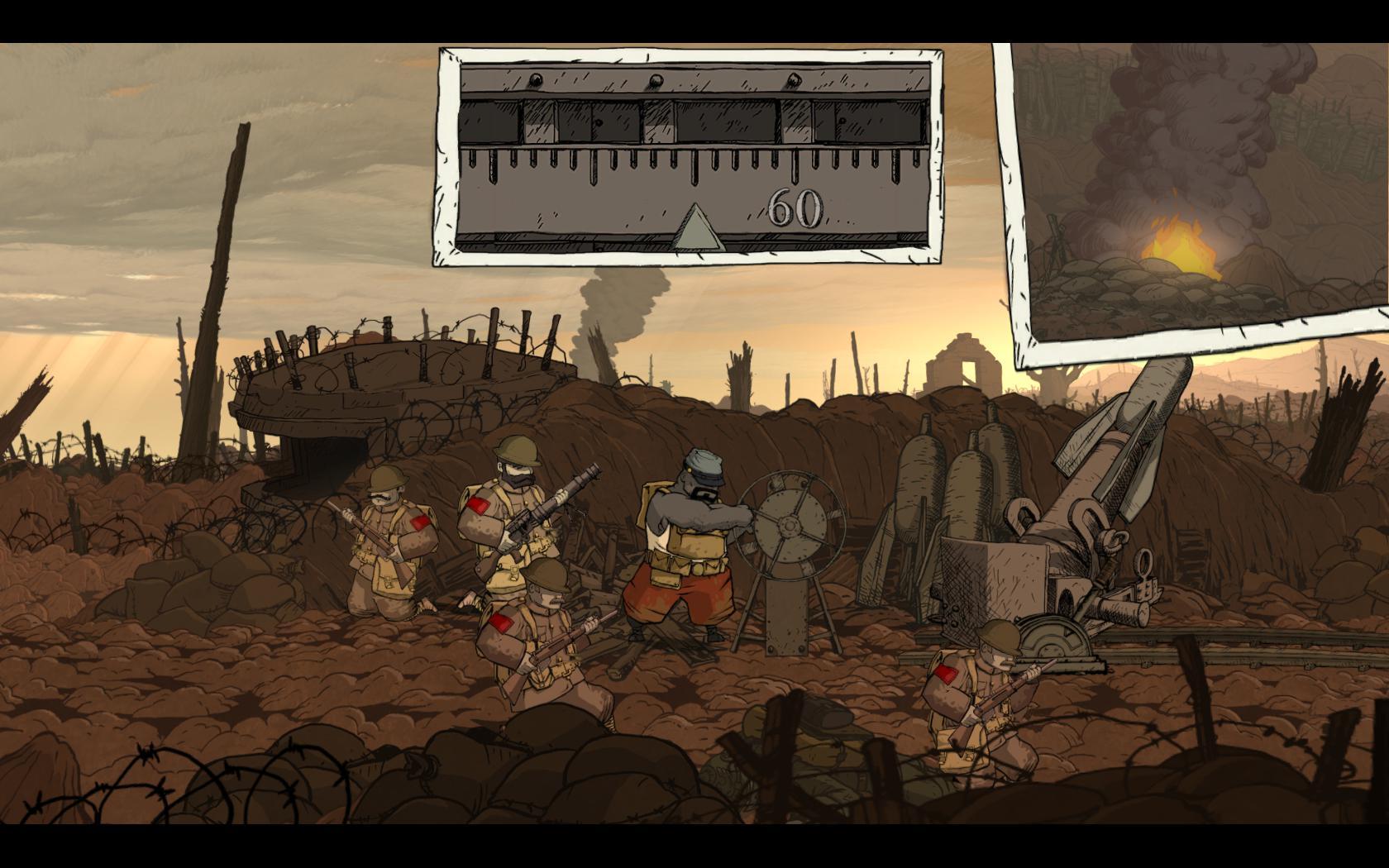Valiant Hearts: The Great War - zákopová krása 98414