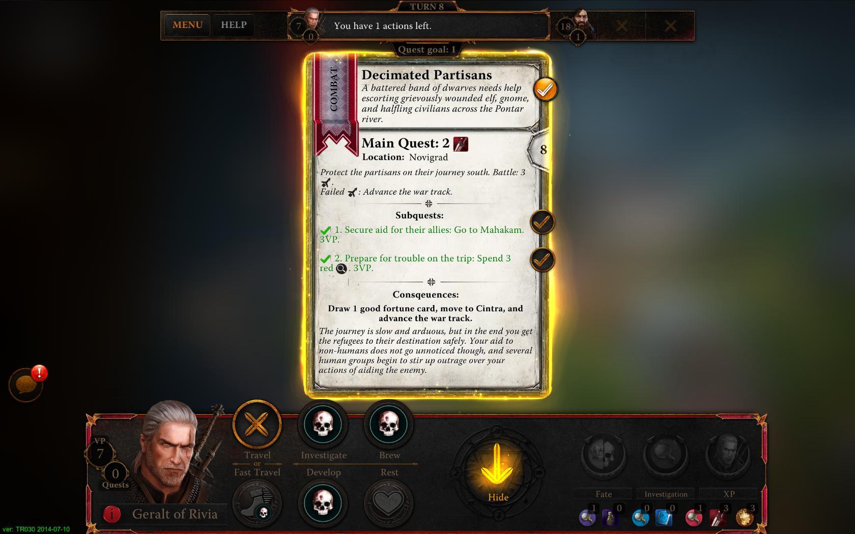 The Witcher: Adventure Game - dojmy z betatestu 98857