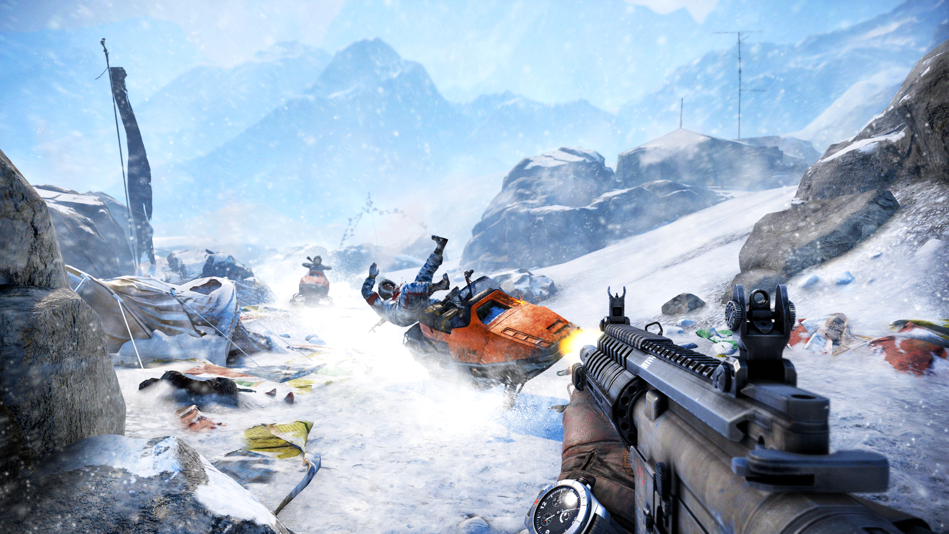 Mapa Far Cry 4 bude stejně velká jako mapa třetího dílu 99410