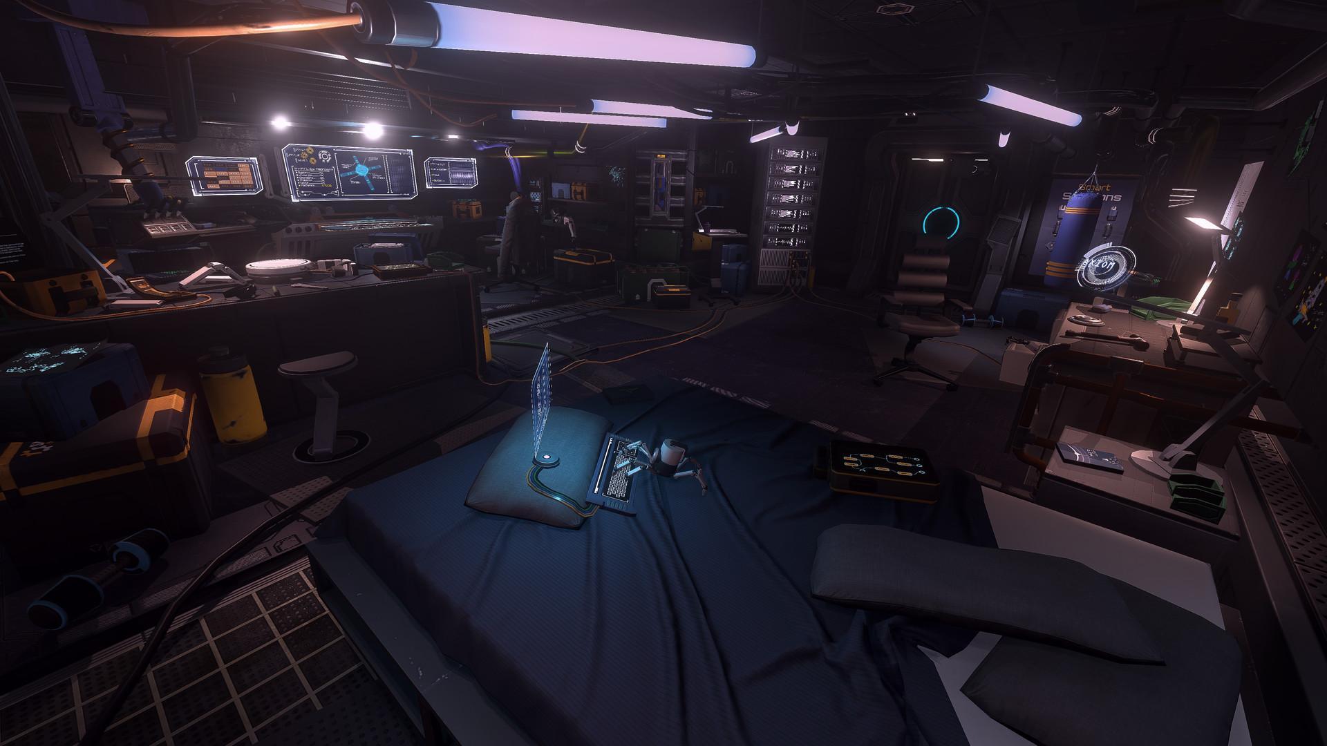 Ve sci-fi adventuře The Station budeme vyšetřovat tajemné zmizení posádky 154626