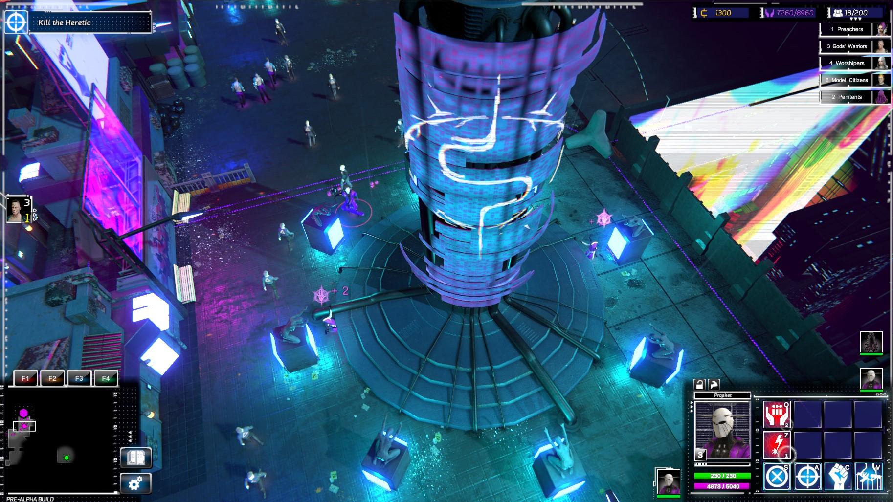 V real-time strategii Re-Legion ovládají svět korporace a technologie 154758
