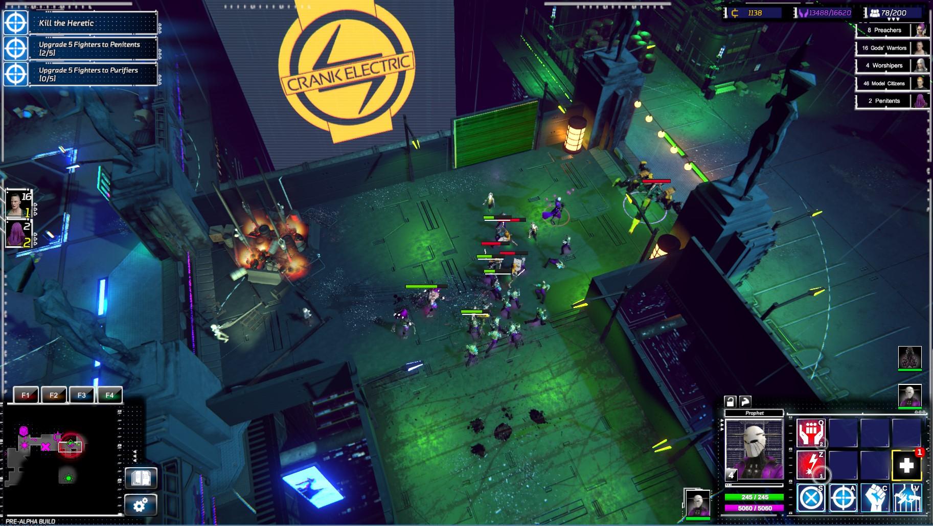 V real-time strategii Re-Legion ovládají svět korporace a technologie 154759