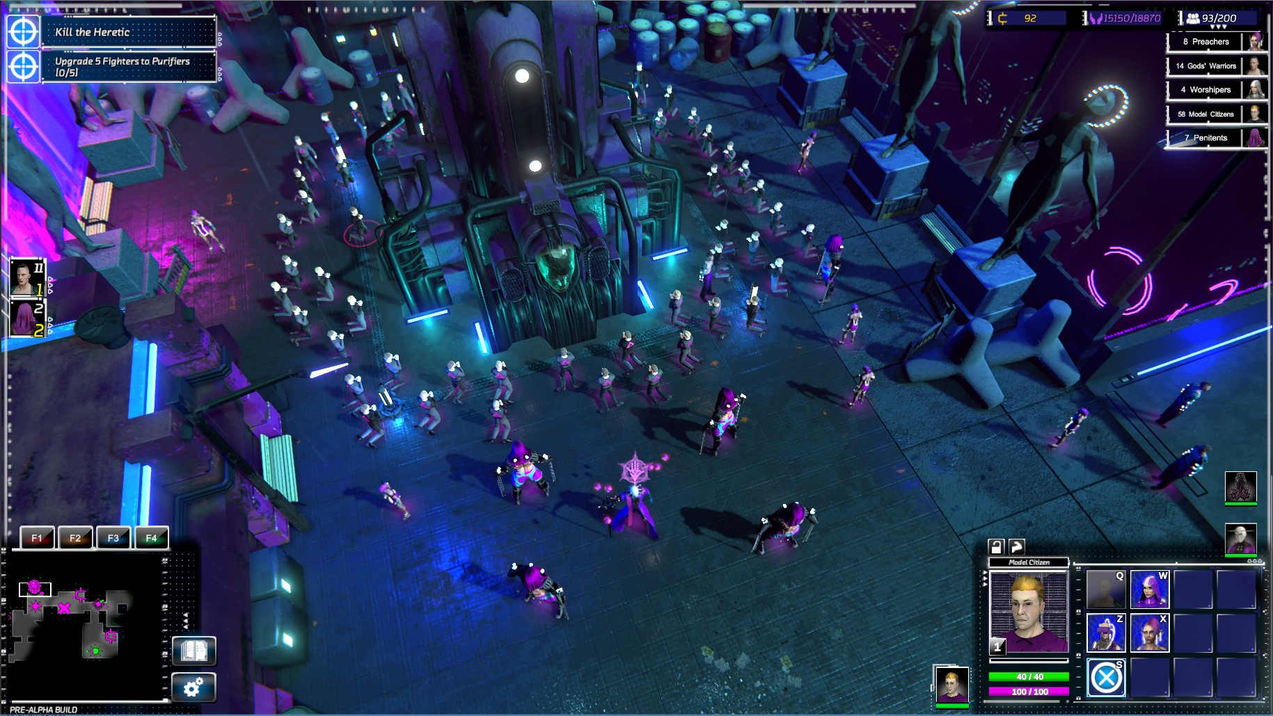 V real-time strategii Re-Legion ovládají svět korporace a technologie 154761