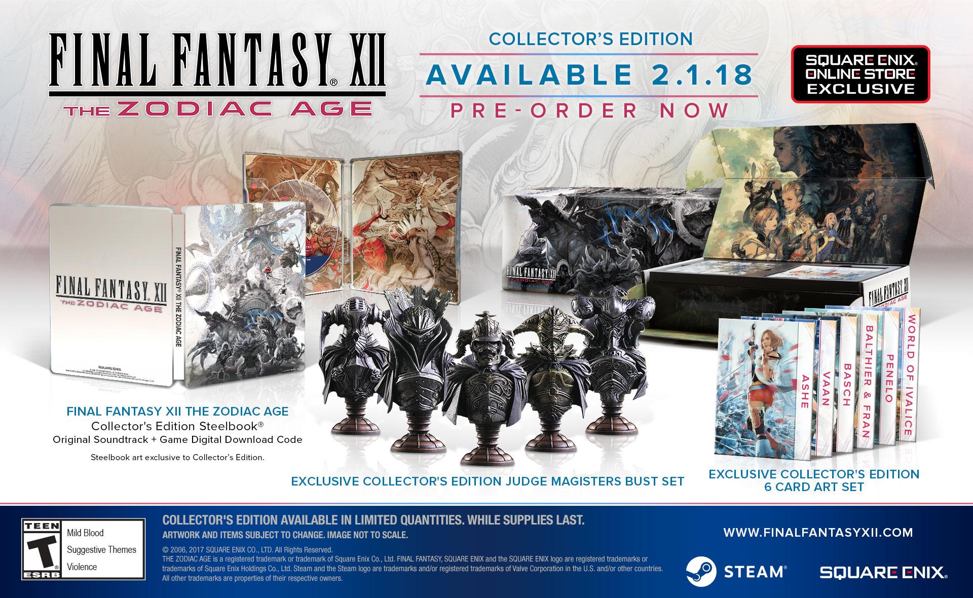 PS4 remaster Final Fantasy XII: The Zodiac Age už v únoru na PC 154835