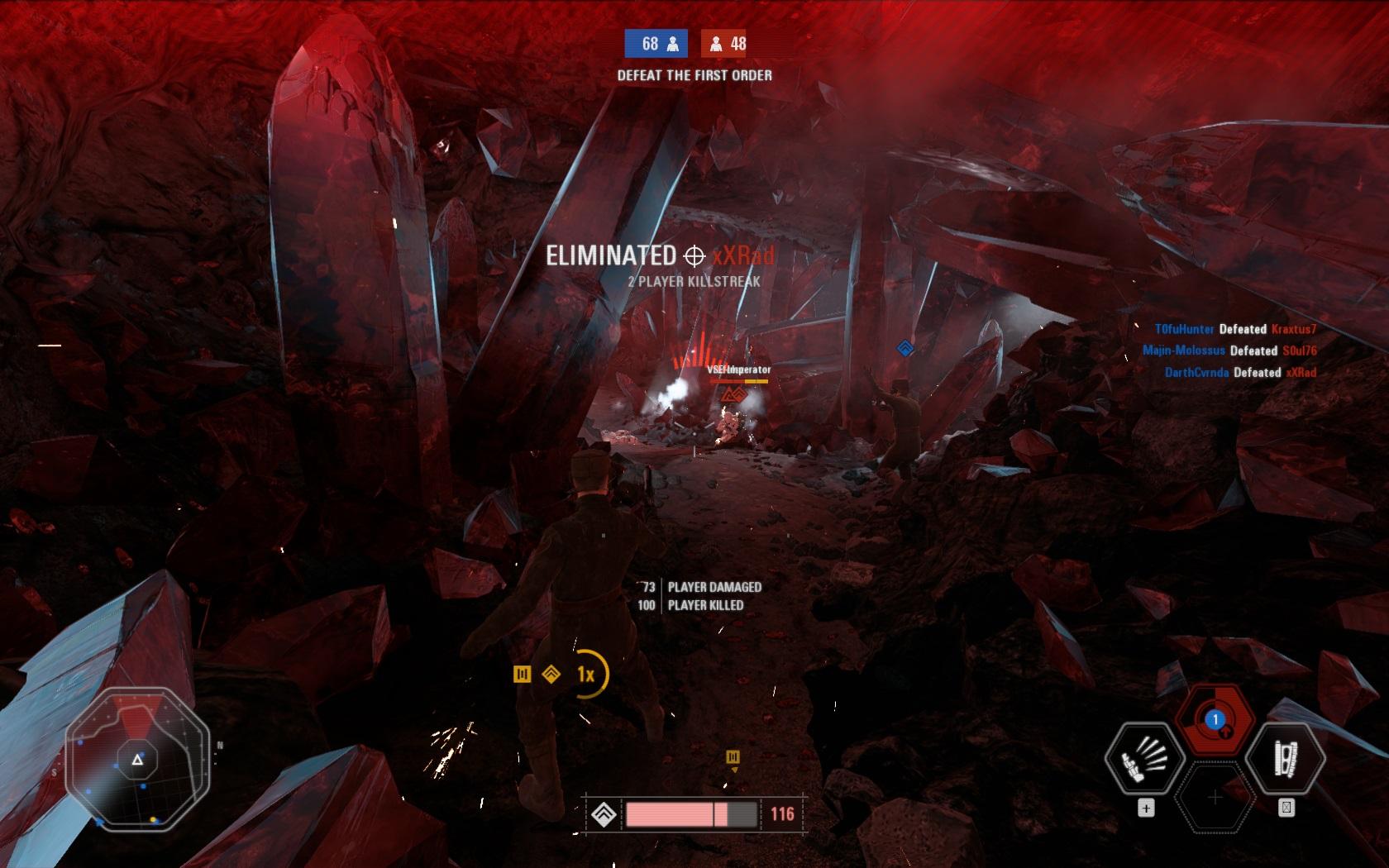 Patch Star Wars: Battlefrontu 2 přidává mapu pro Blast a hrdinskou stíhačku TIE 154895