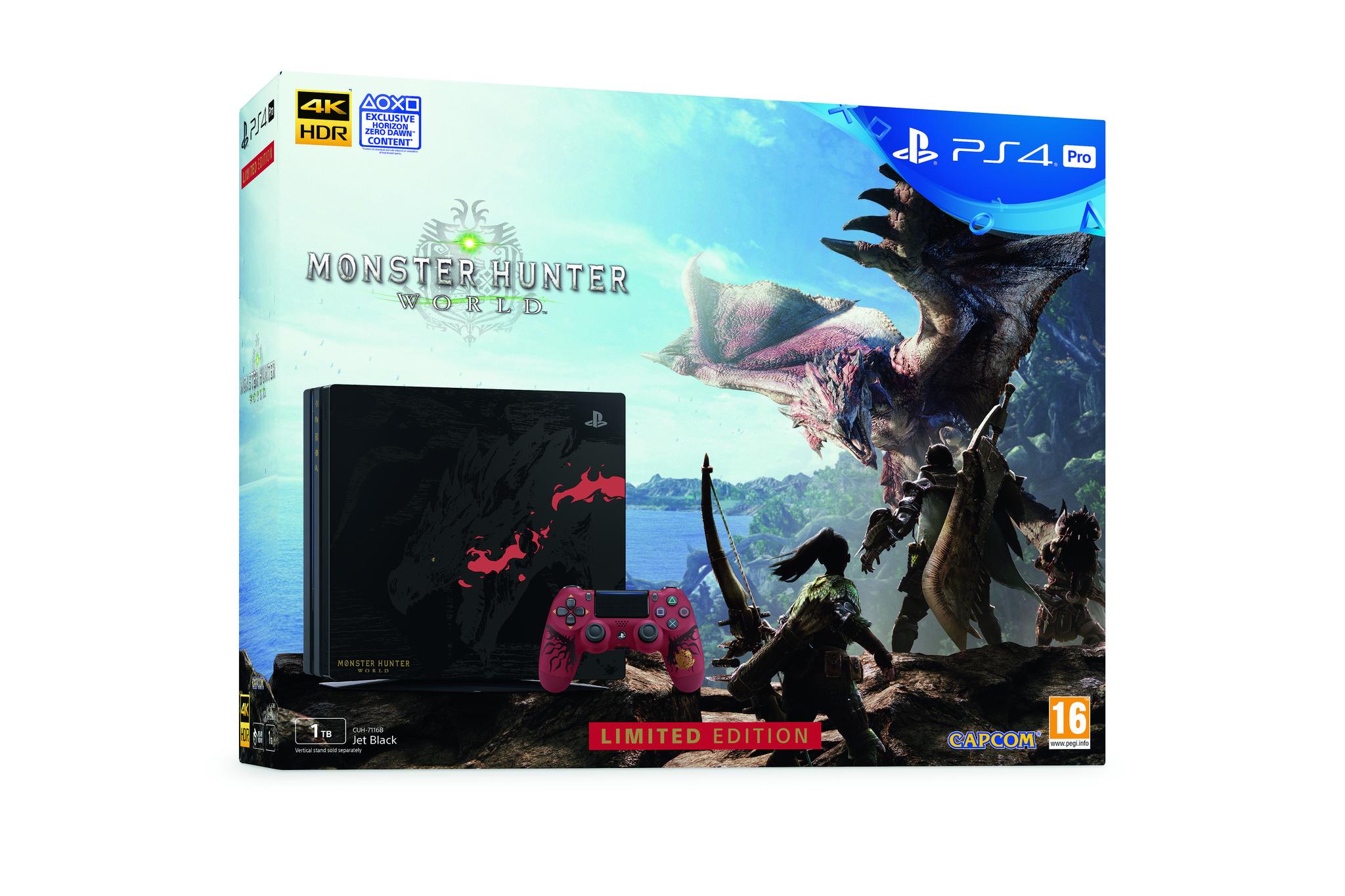 PS4 Pro v edici Monster Hunter: World i v Evropě 155017