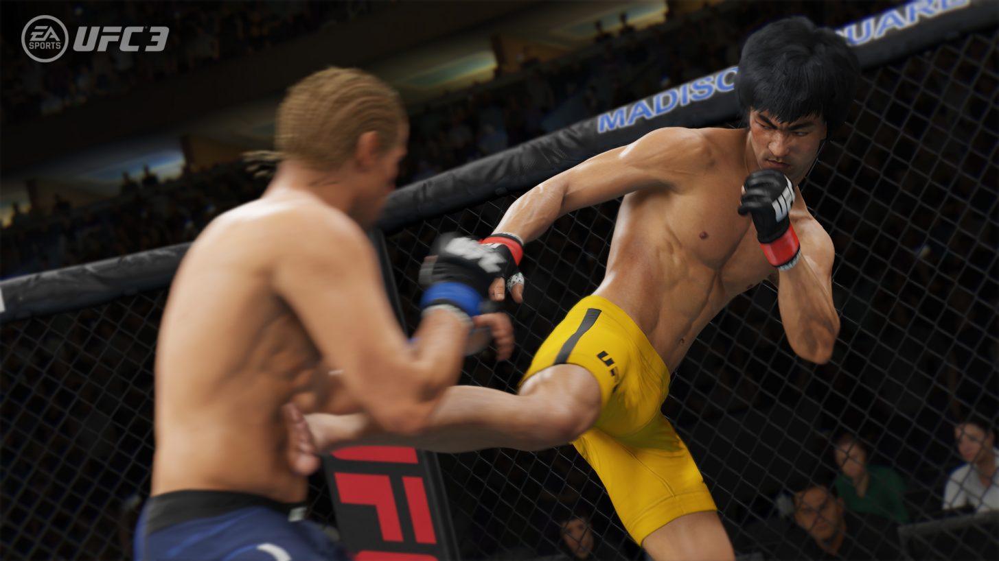 Legendární Bruce Lee se vrací v UFC 3 155224