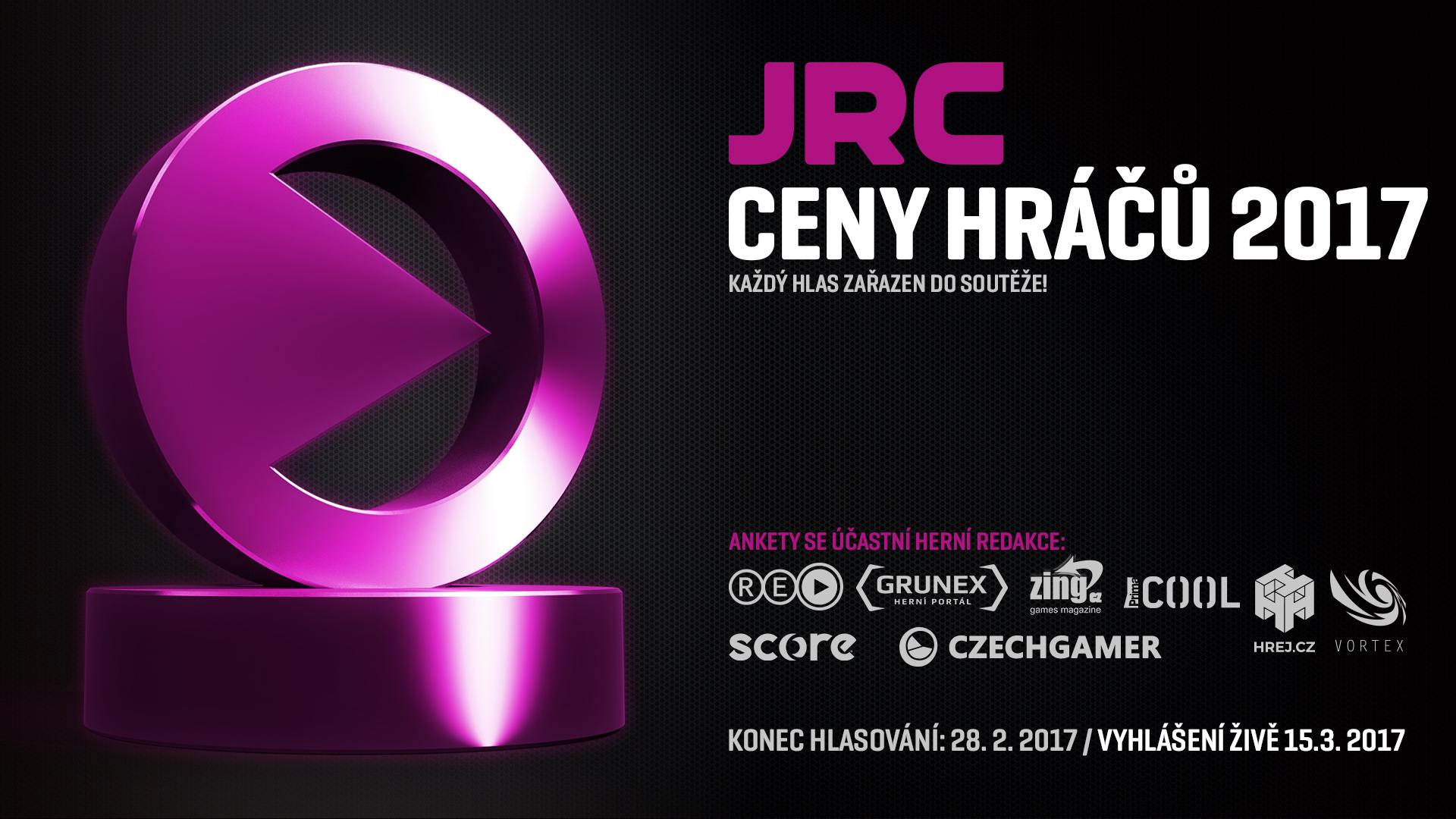 Hlasujte v anketě JRC Ceny hráčů 2017 155435