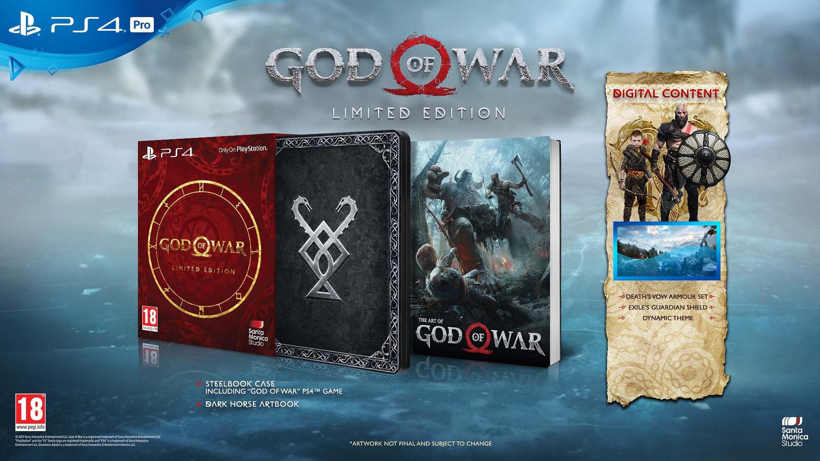 God of War vyjde skutečně 20. dubna limitted