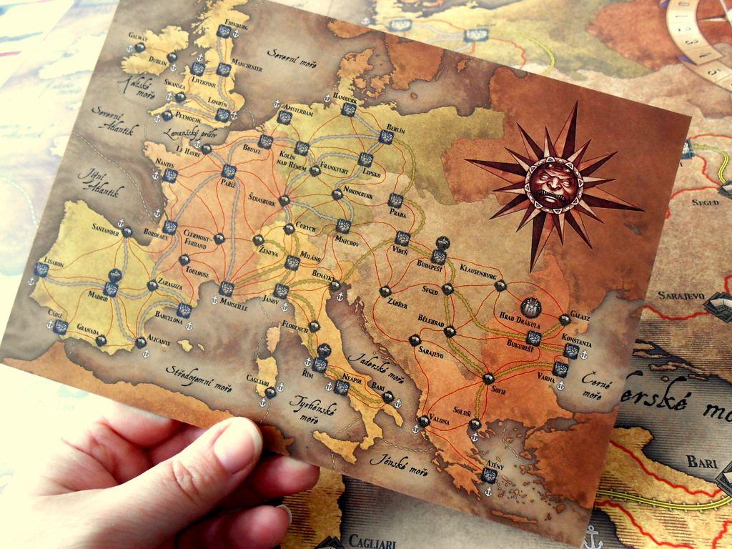 Běsnění Drákuly – deskovka 156016