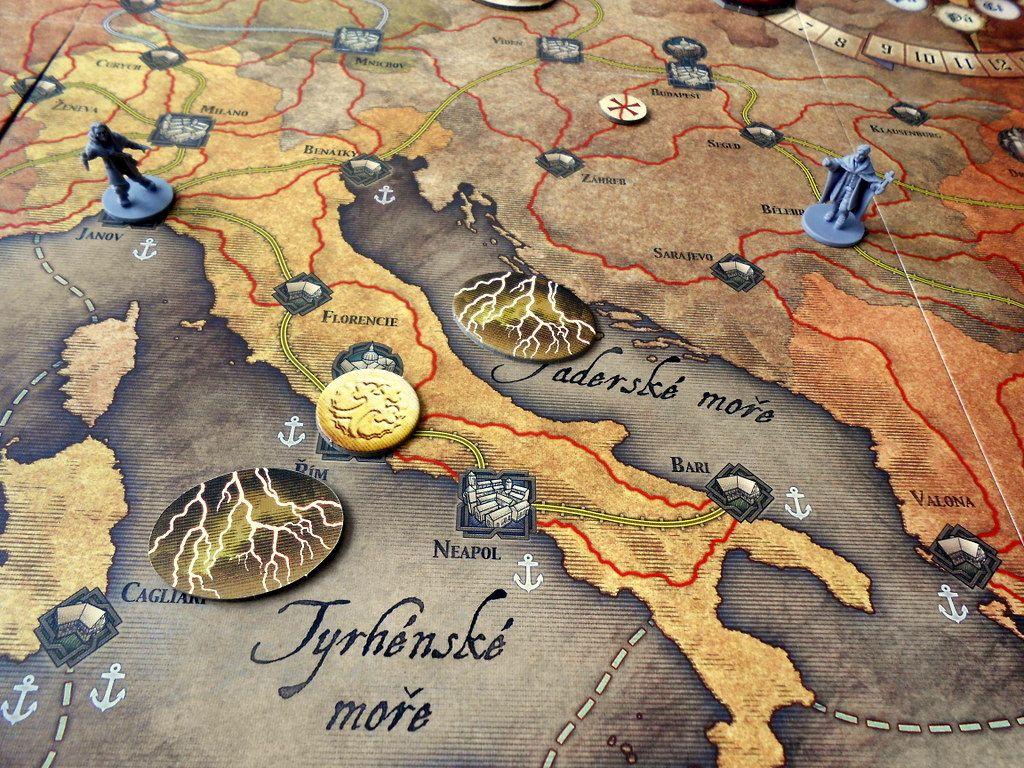 Běsnění Drákuly – deskovka 156018