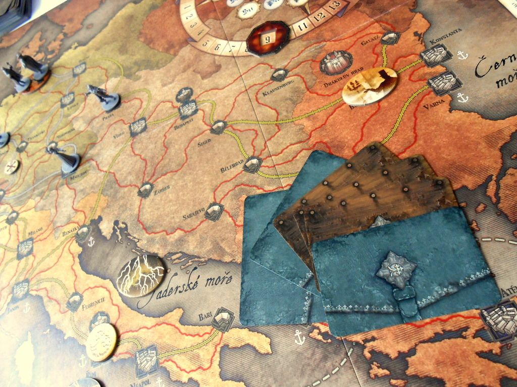 Běsnění Drákuly – deskovka 156024
