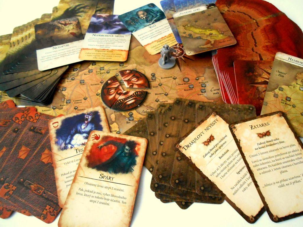 Běsnění Drákuly – deskovka 156025