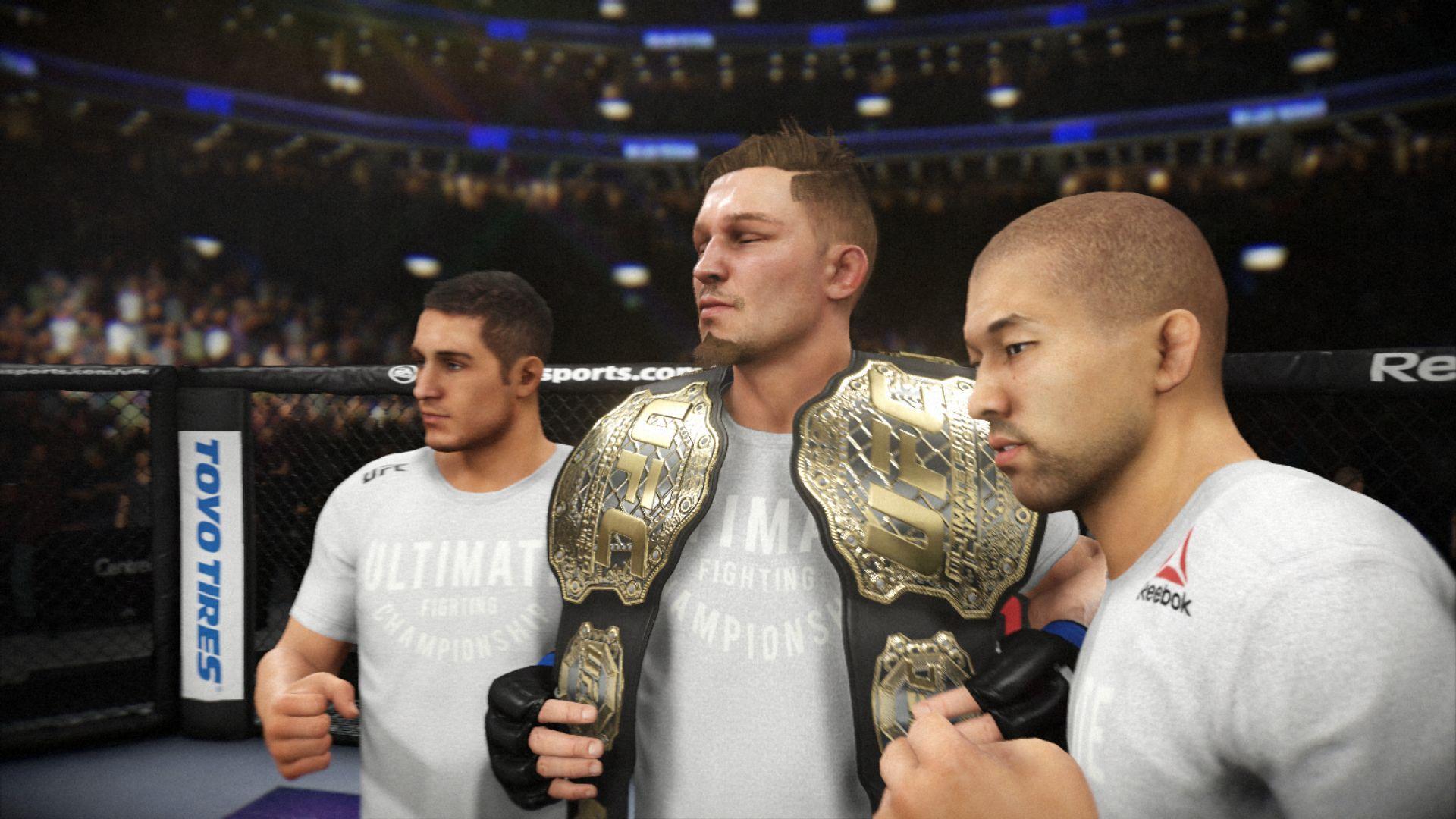 EA Sports UFC 3 - recenze 156040