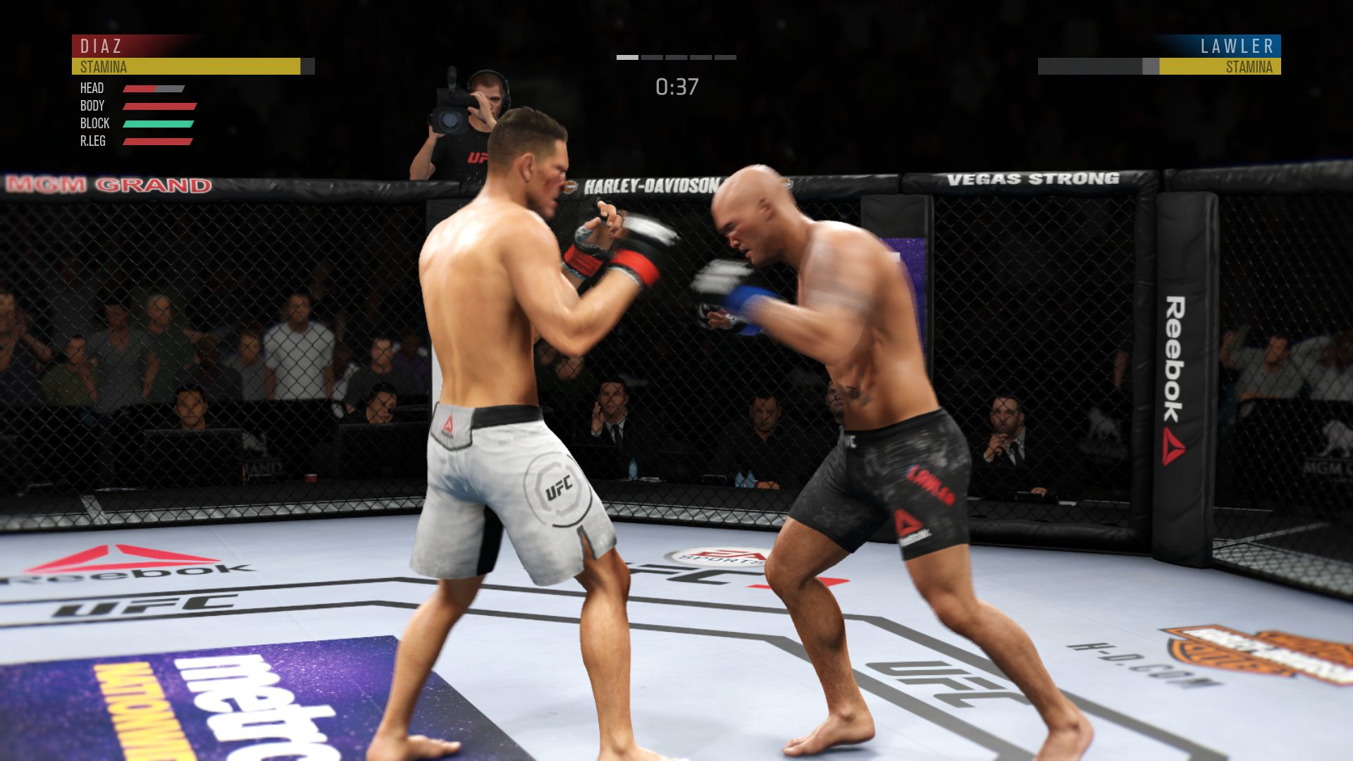 EA Sports UFC 3 - recenze 156043