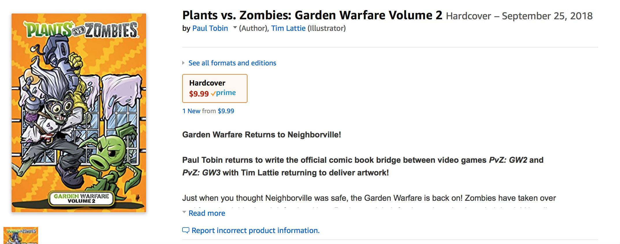 Vyzrazeno pokračování střílečky Plants vs. Zombies 157013
