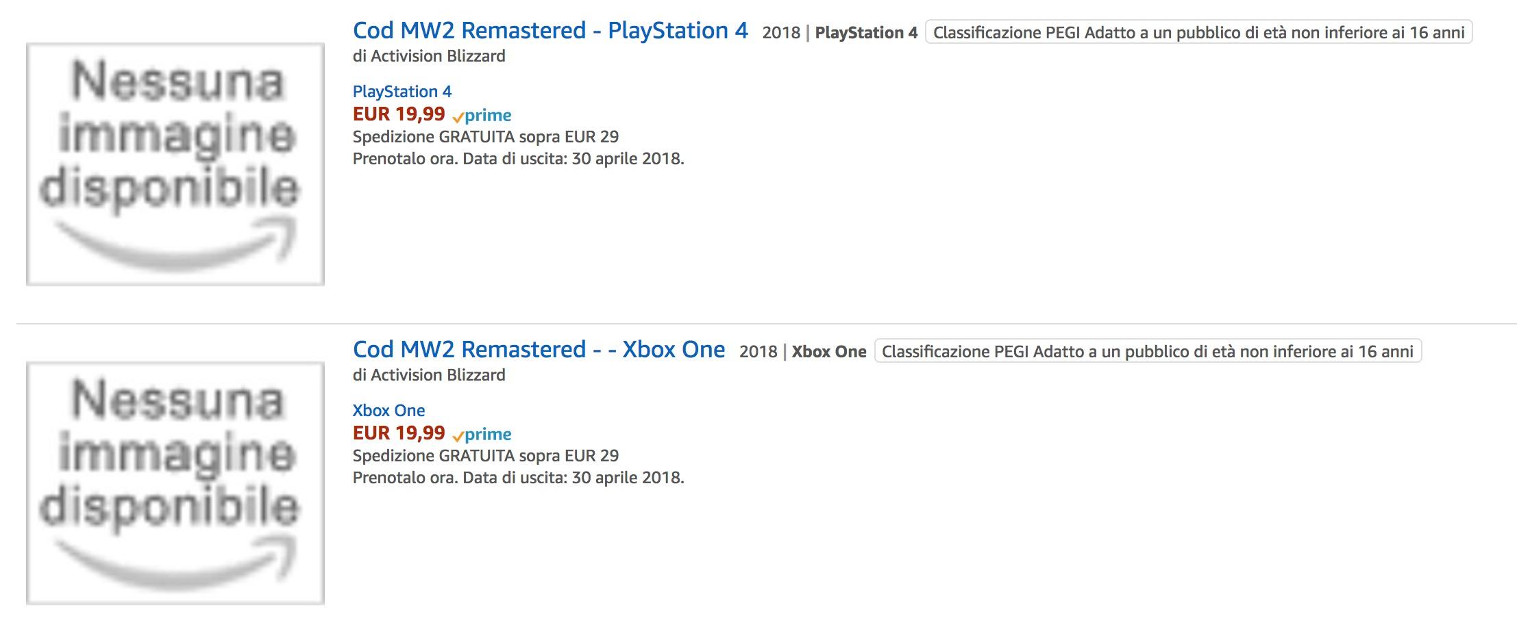 Activision podle všeho chystá remaster Modern Warfare 2 157746