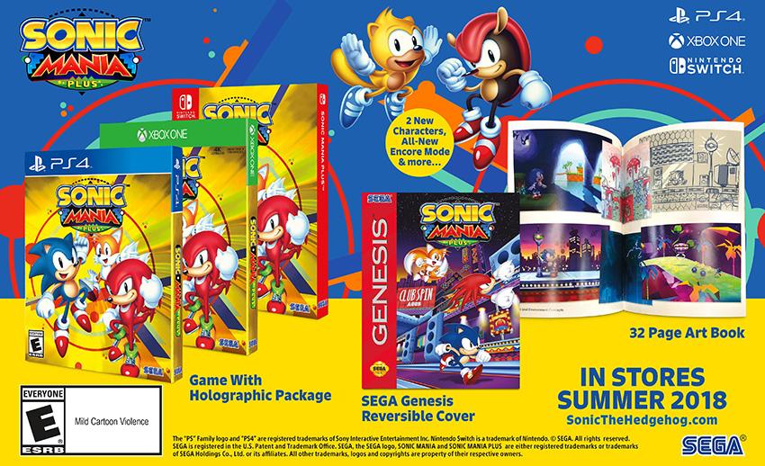 Sonic Mania Plus je rozšířená edice původní plošinovky 157762