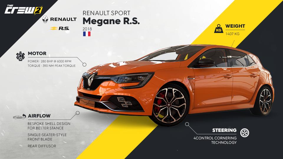 Renault Sport Megane R.S. v The Crew 2 The Crew 2 megane rs 321523