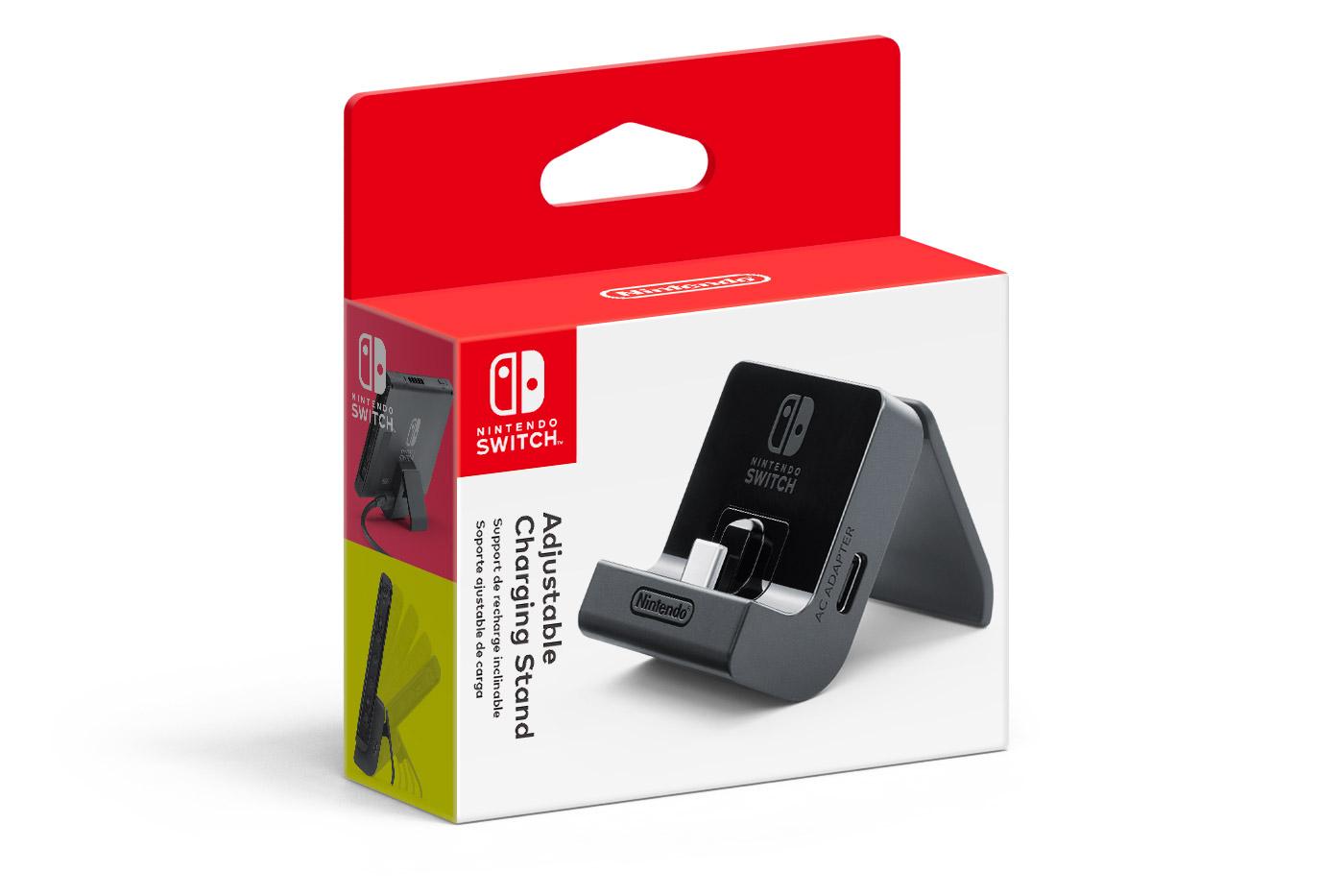Switch si budete moci nabít ze speciálního stojanu Adjustable Charging Stand Switch 2