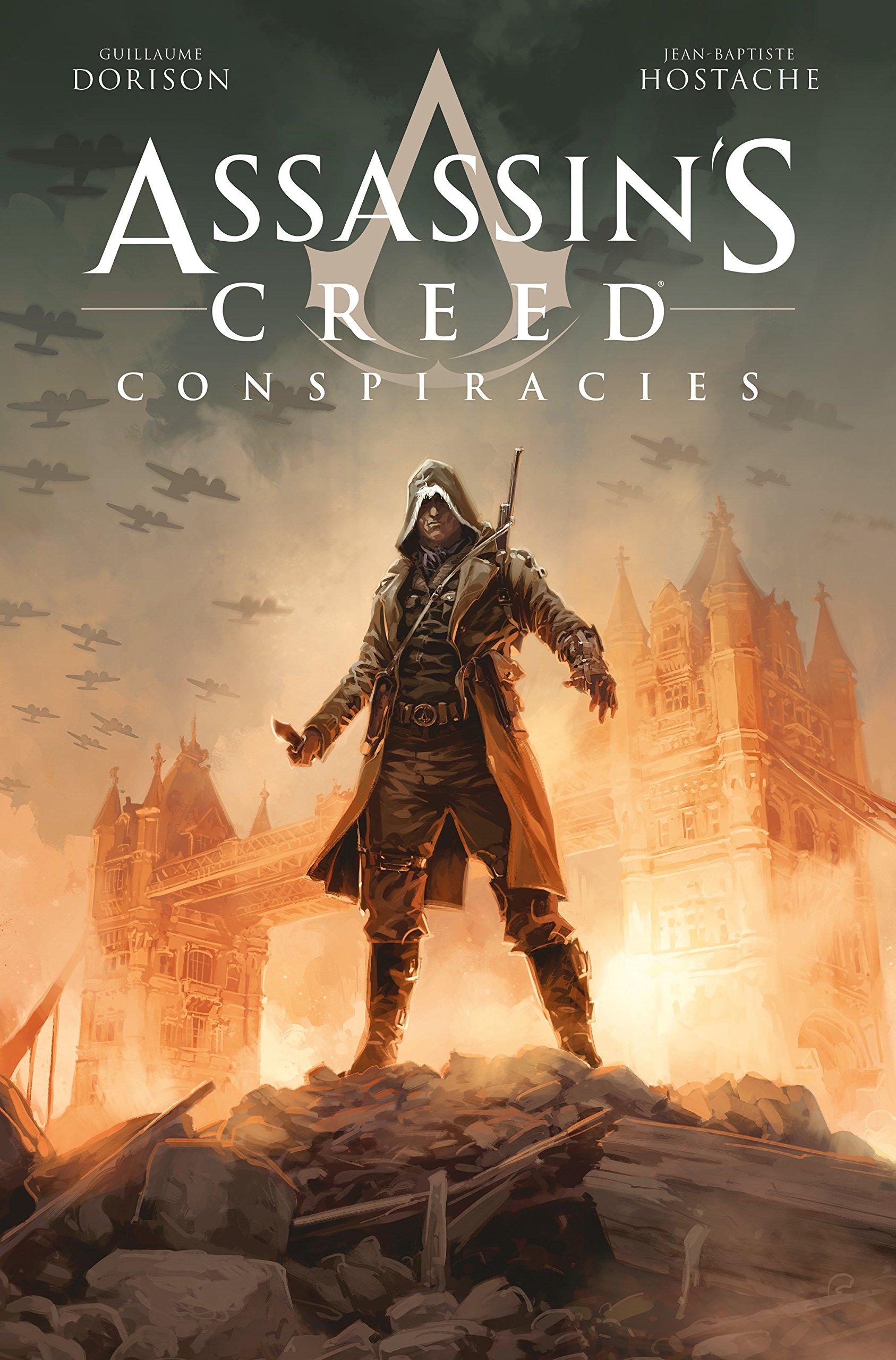 Nový Assassin's Creed komiks se soustředí na druhou světovou válku Assassins Creed Conspiracies