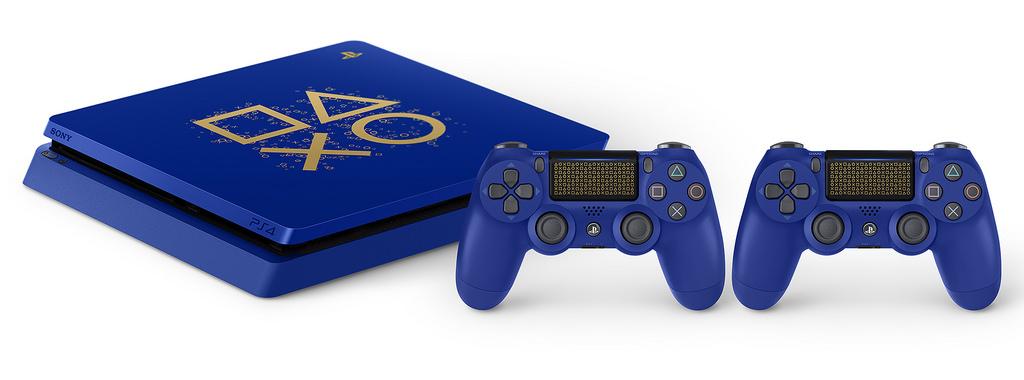 Limitovaná modrá edice PS4 Blue special PS4