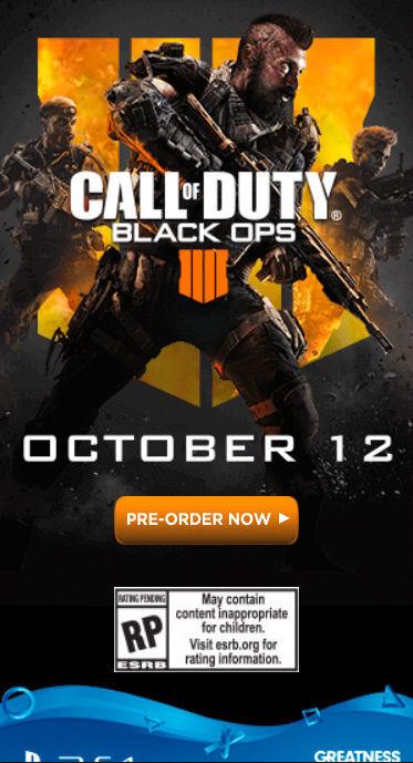Hrdiny Call of Duty: Black Ops 4 známe z předešlého dílu Call of Duty Black Ops 4 reklama