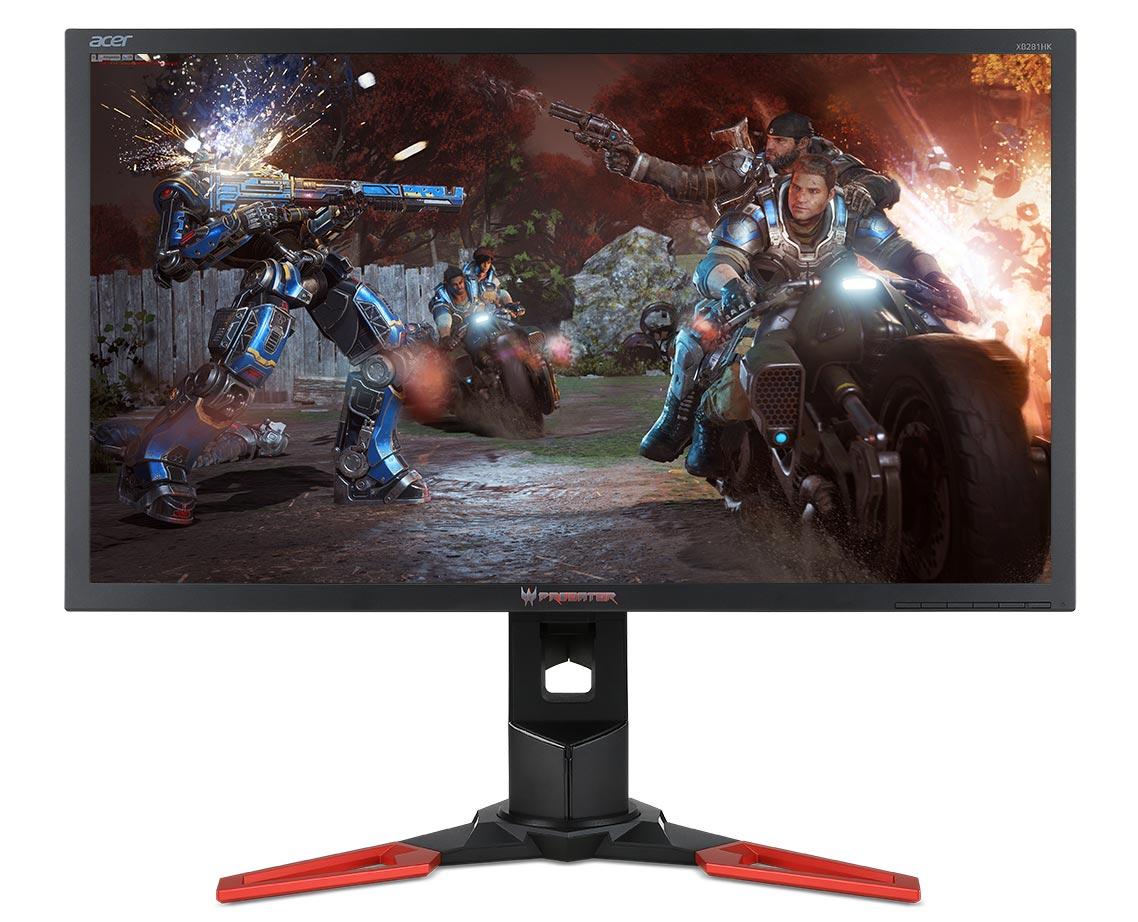 Vyfoť screenshot pomocí NVIDIA Ansel a vyhraj monitor Acer Predator 4K G-SYNC Acer Predator XB281HK