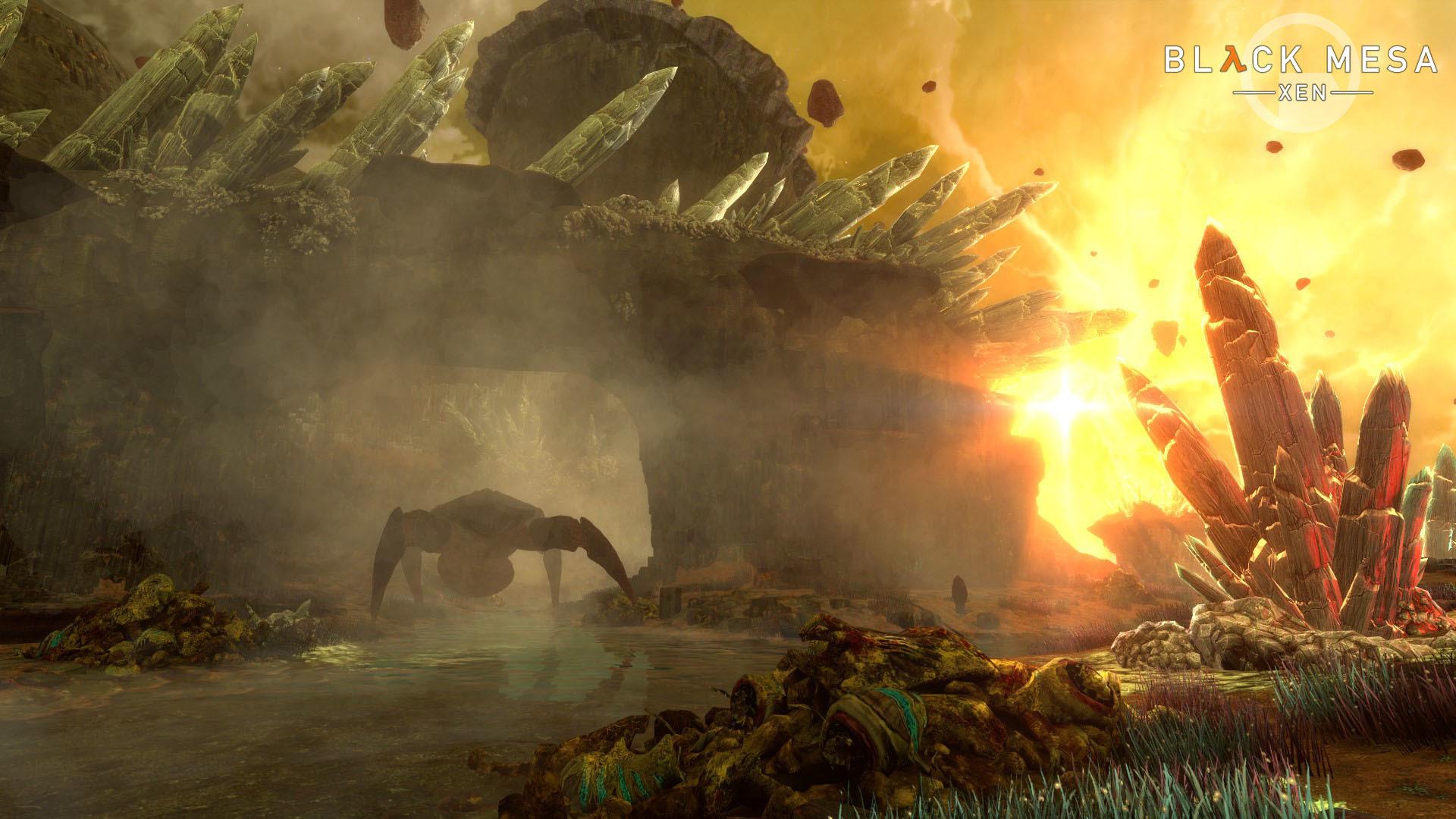 Xen pro Black Mesu se má čile k světu Black Mesa XEN