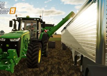 Miniaturní model traktoru John Deere 7530 ve sběratelské edici Farming Simulatoru 19 Farming Simulator 19 E3 04