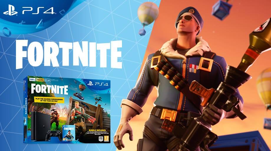 Exkluzivní Bomber skin v novém PS4 bundlu Fortnite Fortnite 1