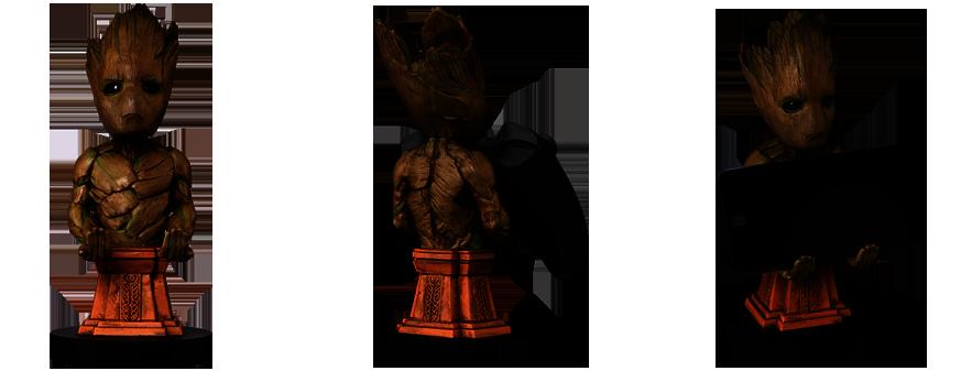 Vytuň si herní doupě #12 - figurky, kam se podíváš Groot3up