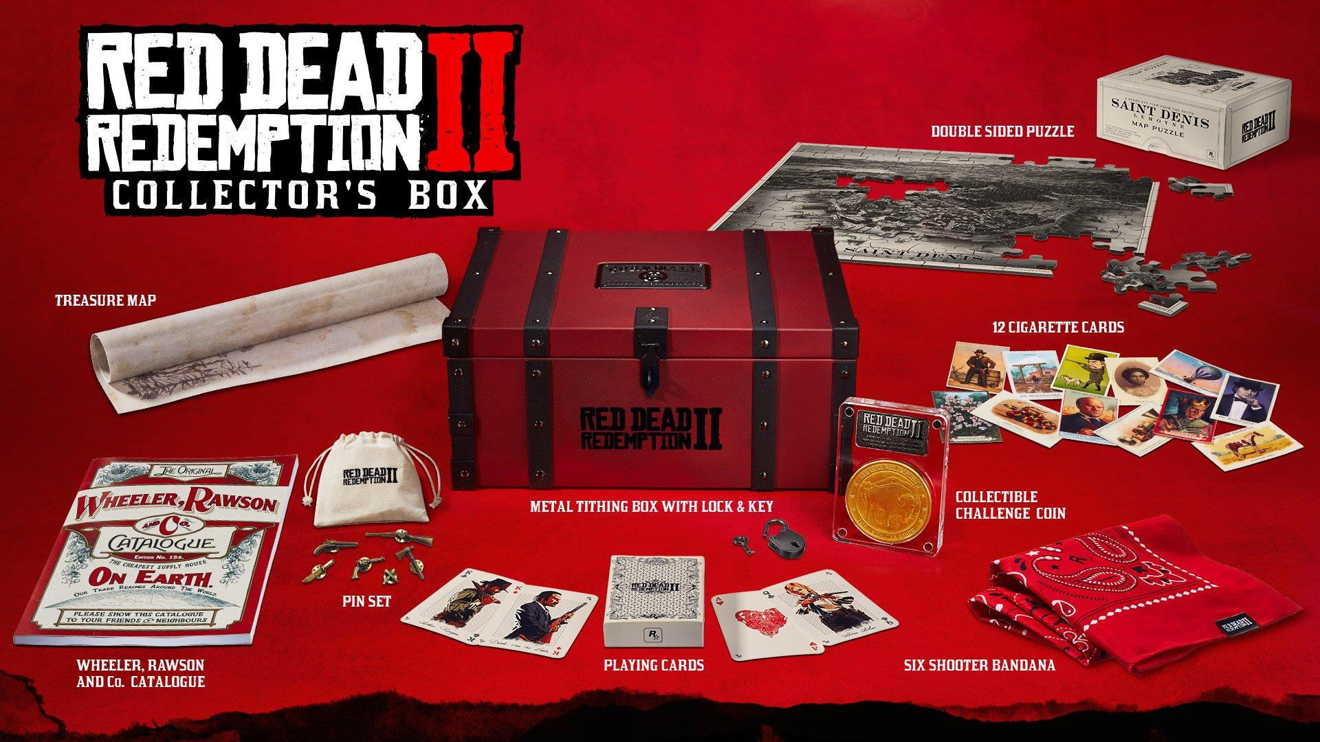 Odhaleny speciální edice Red Dead Redemption 2 Red Dead Redemption sberatelsky