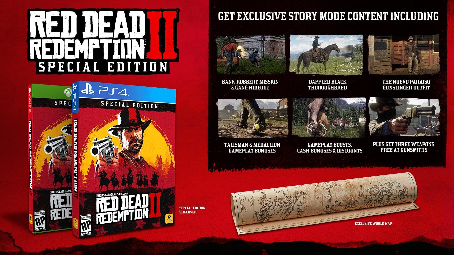 Odhaleny speciální edice Red Dead Redemption 2 Red Dead Redemption specialni edice