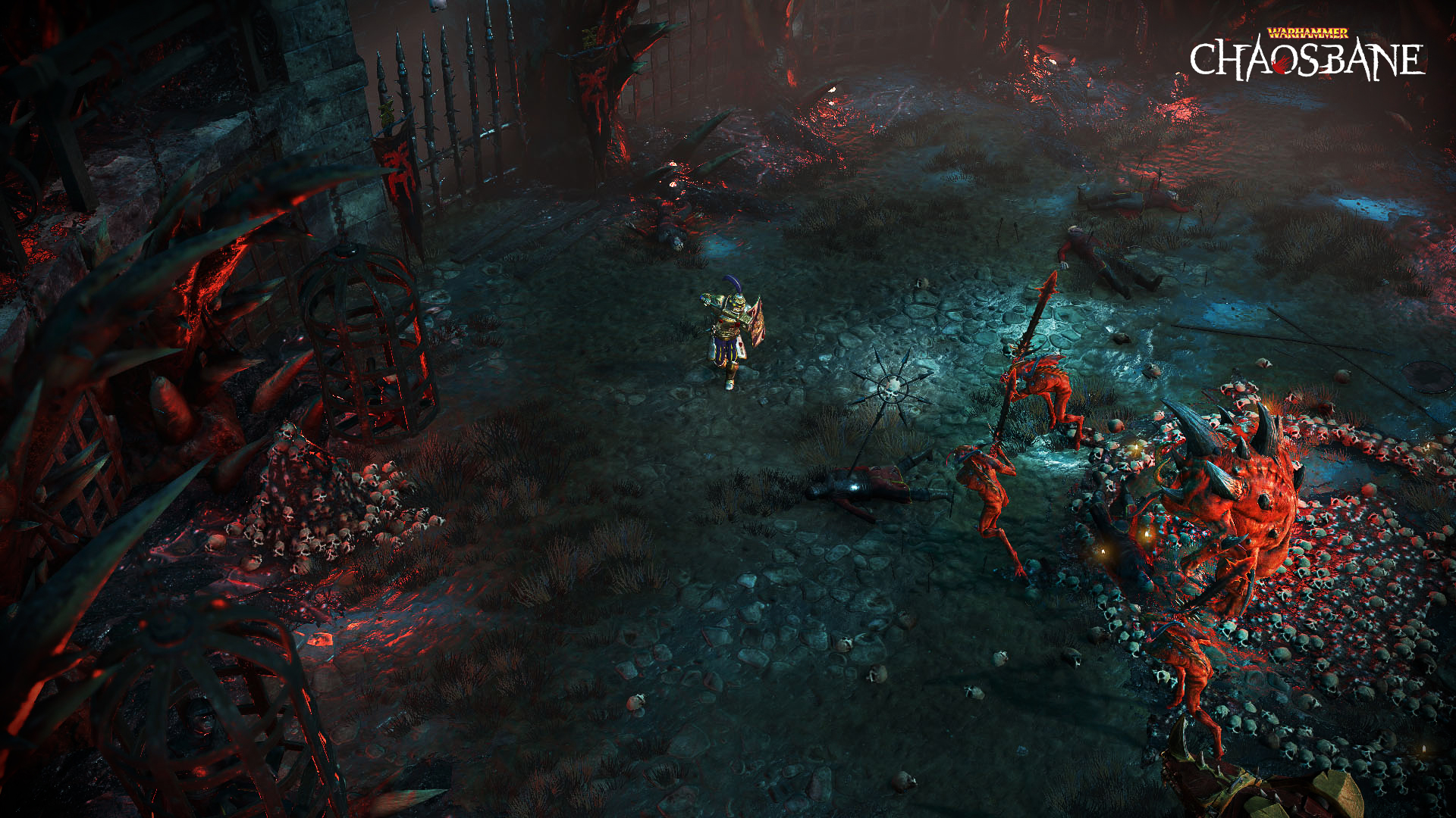 Do brutálního světa Warhammeru zavítáme poprvé v akčním RPG Warhammer Chaosbane 01