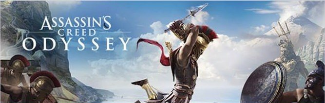 V Assassin's Creed Odyssey se staneme legendárním spartským hrdinou assassins creed odyssey logo