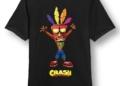 Vytuň si herní doupě #14 - E3, figurka z Řecka a trička crash bandicoot tricko aku aku velikost l 0.jpg.big