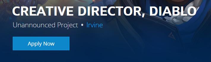Blizzard hledá lidi na nový, neoznámený Diablo projekt diablodirector