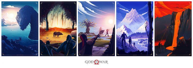 Den otců ve světě videoher god of war