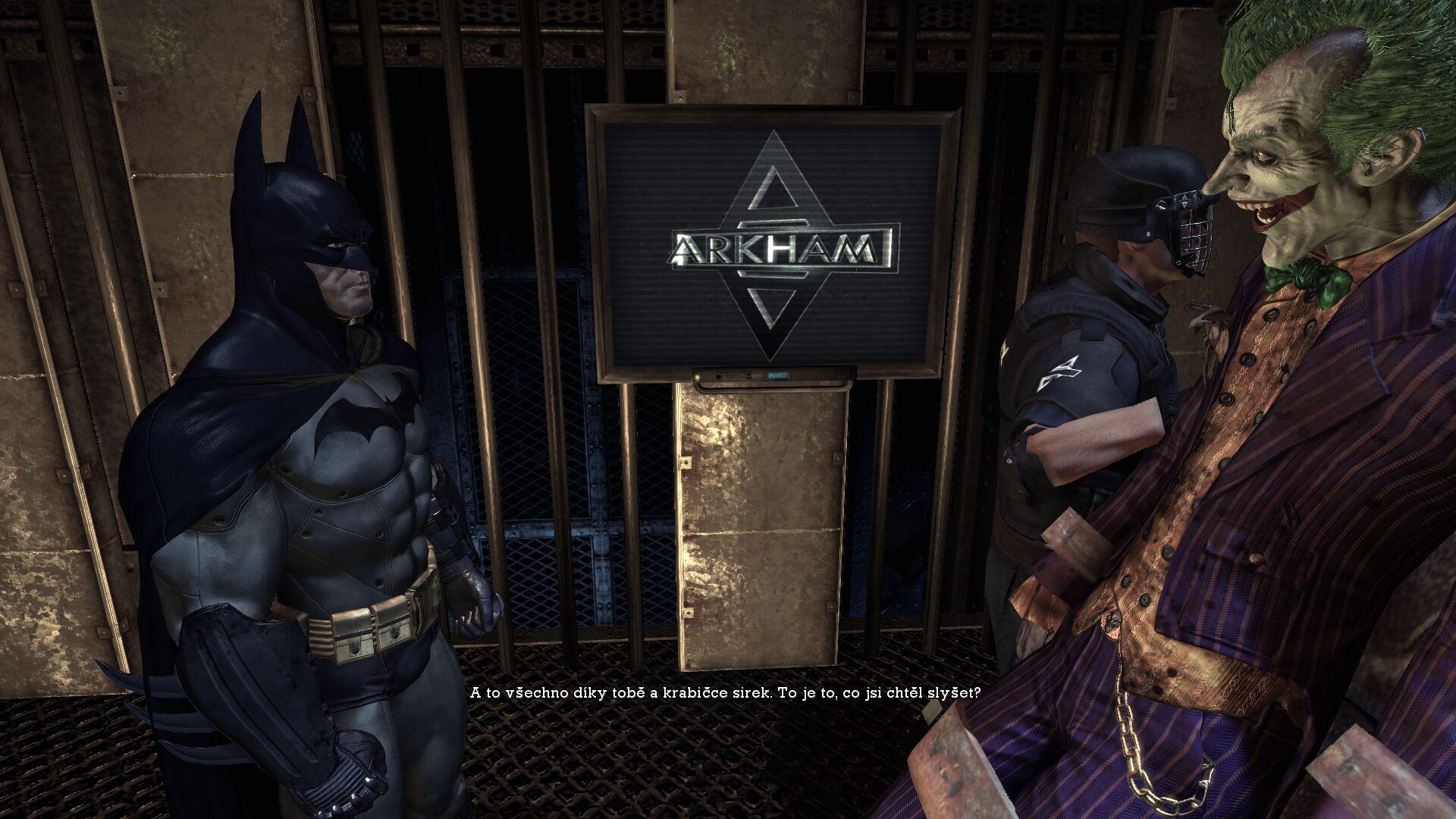 Druhá šance – Batman: Arkham Asylum 10703