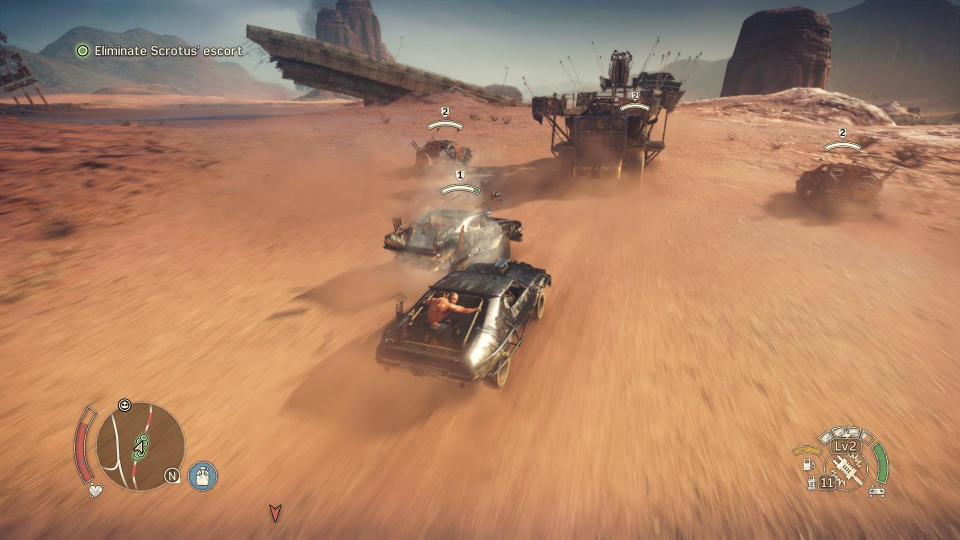 Mad Max - Průjezd Tichou pustinou 10791