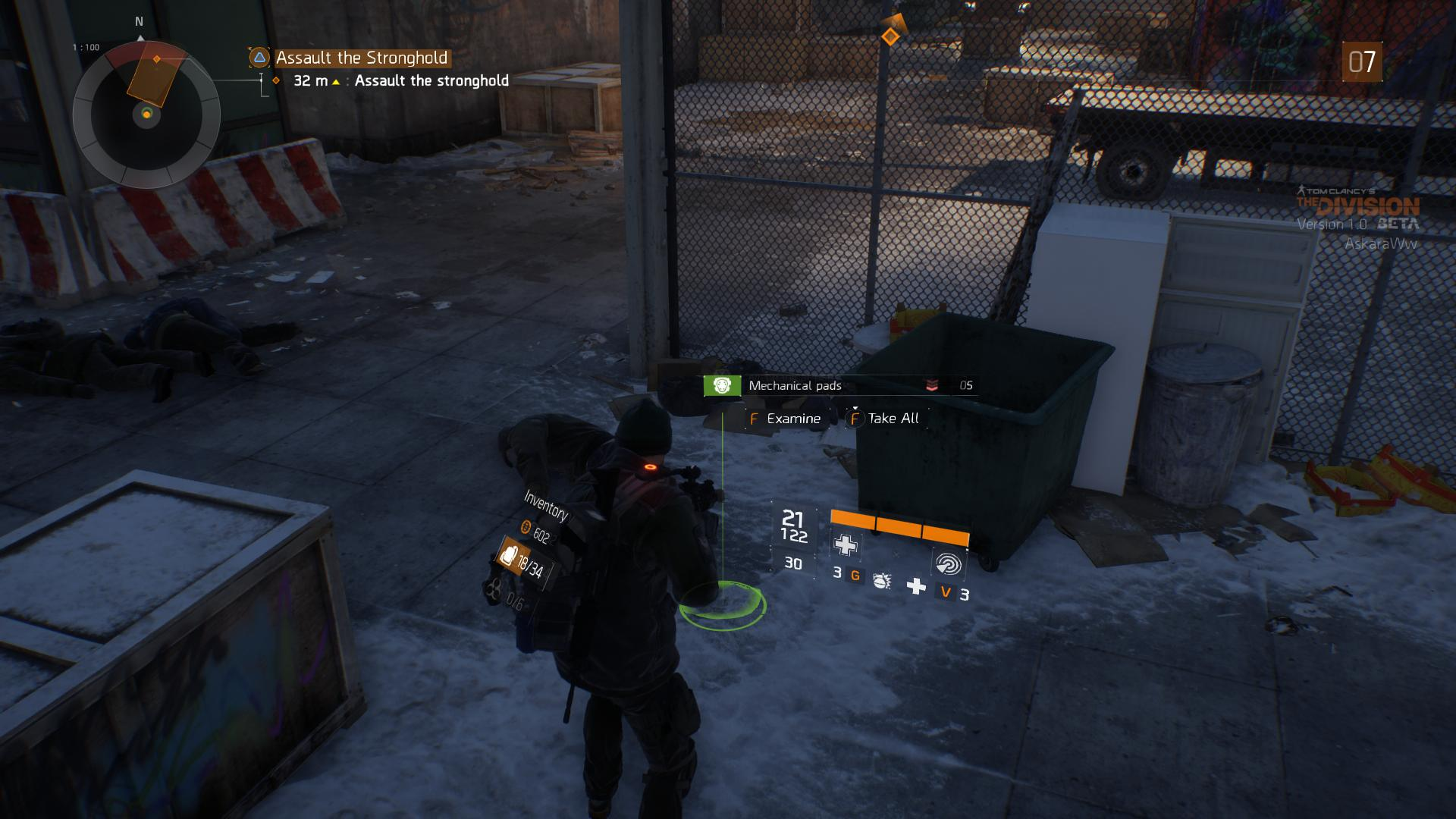 Tom Clancy's The Division Dojmy z Bety (PC) 11207
