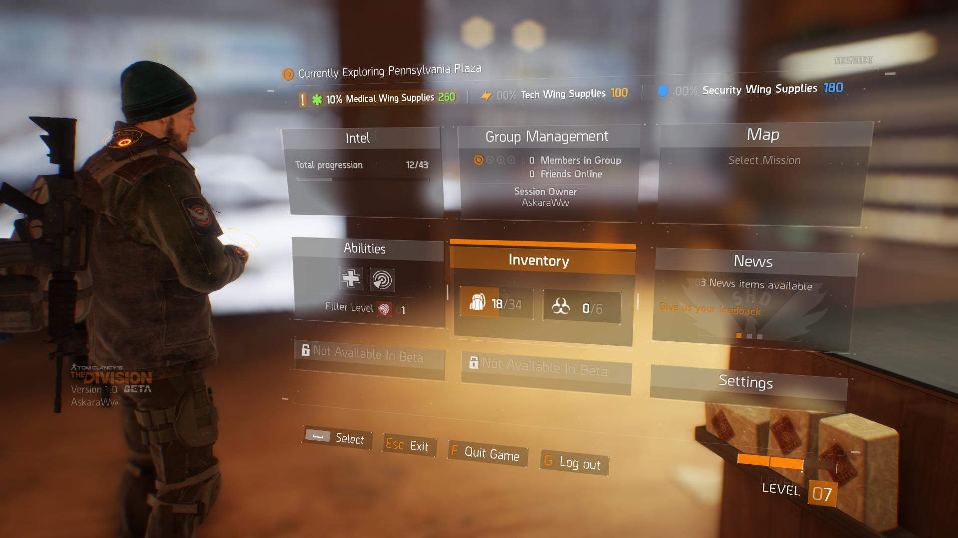 Tom Clancy's The Division Dojmy z Bety (PC) 11212