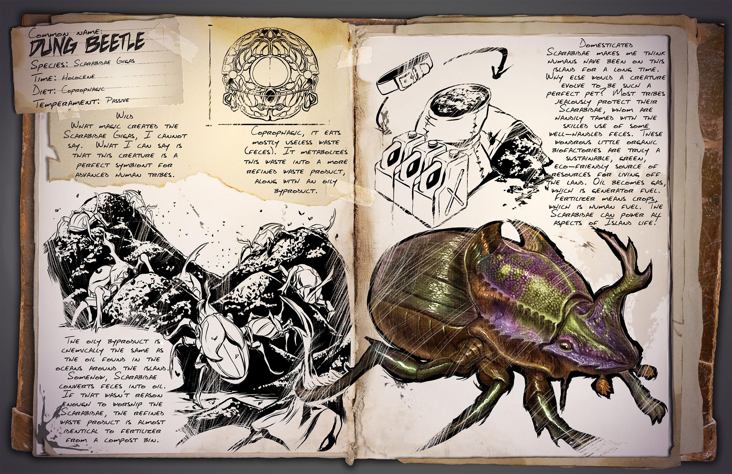 ARK: Survival Evolved - rozrůstající se fauna 11543